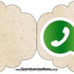 Convite Cupcake Whatsapp
