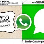 Convite Envelope Whatsapp