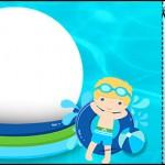 Convite Ingresso Pool Party