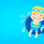 Convite, Moldura e Cartão Pool Party 2