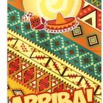 Convite Pirulito Festa Mexicana