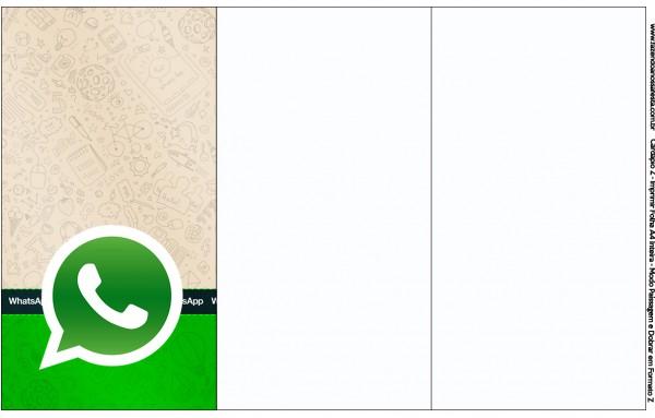 Convite,Cardápio ou Cronograma Whatsapp