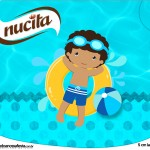 Creminho Nucita Pool Party Menino Moreno