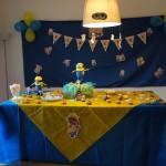 Festa Minions da Marina!