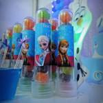 Tubetes Festa Frozen da Lívia e Beatriz