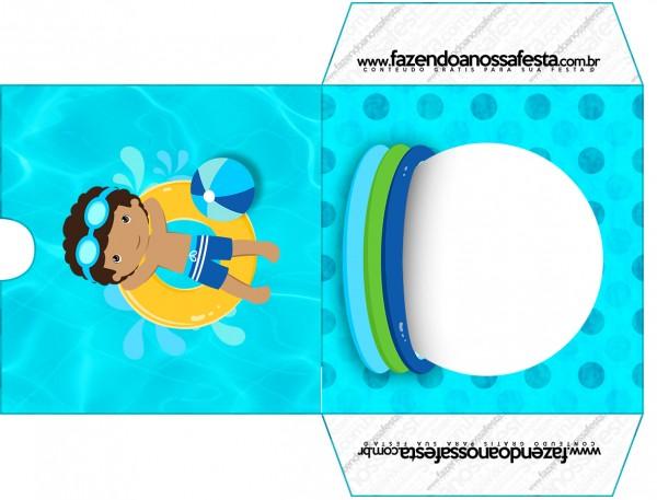 Envelope CD DVD Pool Party Menino Moreno