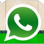 Envelope Convite Whatsapp