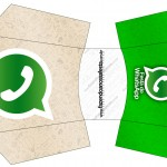 Envelope Fritas Whatsapp