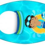 Esmalte Pool Party Menino Moreno