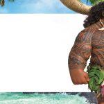 Etiqueta Escolar Moana Maui