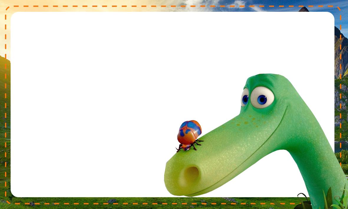 Etiqueta Escolar O Bom Dinossauro 11