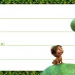 Etiqueta Escolar O Bom Dinossauro 4
