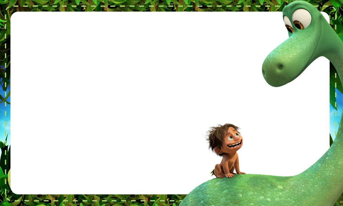 Etiqueta Escolar O Bom Dinossauro 5
