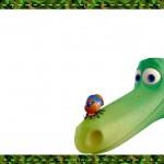 Etiqueta Escolar O Bom Dinossauro 6