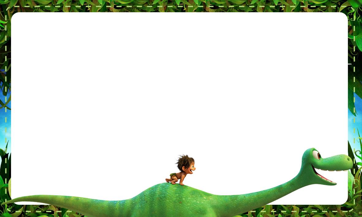 Etiqueta Escolar O Bom Dinossauro 7