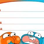 Etiqueta Escolar O Incrivel Mundo de Gumball 4