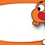 Etiqueta Escolar O Incrivel Mundo de Gumball 8
