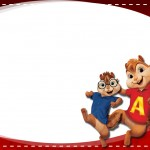 Etiqueta Escolar Personalizada Alvin e os Esquilos 3