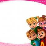 Etiqueta Escolar Personalizada Alvin e os Esquilos 35