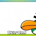 Etiqueta Escolar Personalizada Angry Birds 4