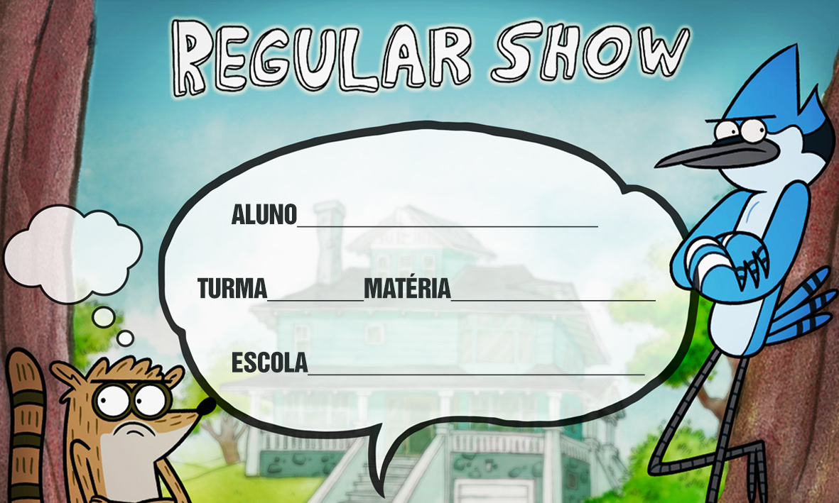 Etiqueta Escolar Personalizada Apenas um Show 9
