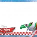 Etiqueta Escolar Personalizada Avioes da Disney 4