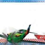 Etiqueta Escolar Personalizada Avioes da Disney 5