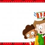 Etiqueta Escolar Personalizada DPA Detetives do Predio Azul 10