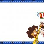 Etiqueta Escolar Personalizada DPA Detetives do Predio Azul 2