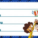 Etiqueta Escolar Personalizada DPA Detetives do Predio Azul 3
