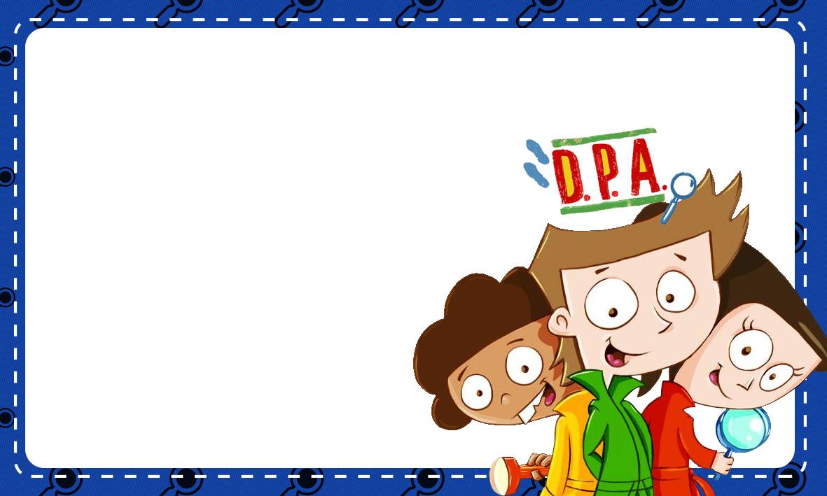 Etiqueta Escolar Personalizada DPA Detetives do Predio Azul 4