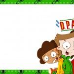 Etiqueta Escolar Personalizada DPA Detetives do Predio Azul 6