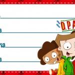 Etiqueta Escolar Personalizada DPA Detetives do Predio Azul 7