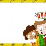 Etiqueta Escolar Personalizada DPA Detetives do Predio Azul 8