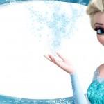 Etiqueta Escolar Personalizada Elza Frozen 2
