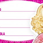 Etiqueta Escolar Personalizada Ever After High 3
