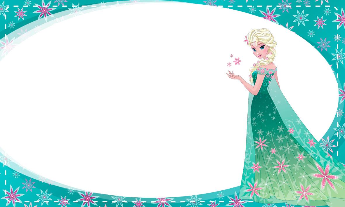 Etiqueta Escolar Personalizada Frozen Fever 4