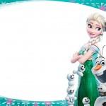 Etiqueta Escolar Personalizada Frozen Fever 8