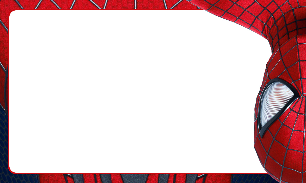 Etiqueta Escolar Personalizada Homem Aranha 6