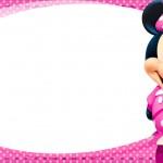 Etiqueta Escolar Personalizada Minnie 2