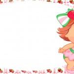 Etiqueta Escolar Personalizada Moranguinho Baby 6