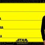 Etiqueta Escolar Personalizada Star Wars 1