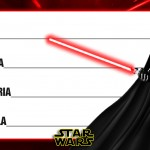 Etiqueta Escolar Personalizada Star Wars 10