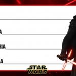 Etiqueta Escolar Personalizada Star Wars 9