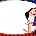 Etiqueta Escolar Personalizadas Show da Luna 2