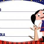 Etiqueta Escolar Personalizadas Show da Luna 5