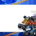 Etiqueta Volta as Aulas Blaze and Monster Machines 44