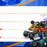 Etiqueta Volta as Aulas Blaze and Monster Machines 55