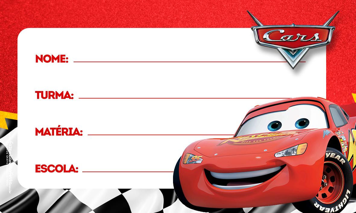 Etiqueta Volta as aulas Carros Relampago mcquenn 4