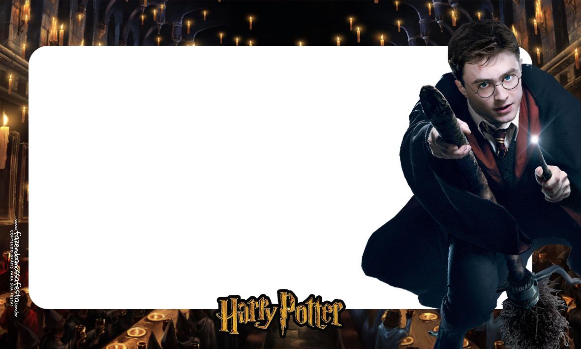 Etiqueta Volta as aulas Harry Potter